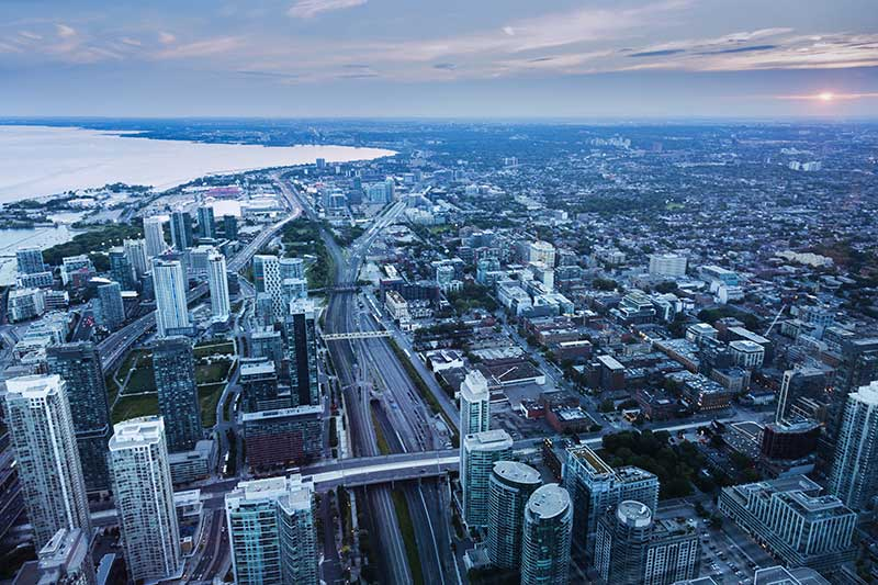 Condo highest price growth in Toronto or North York from last 9 years